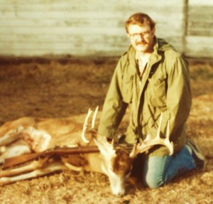 Dave Wade with deer