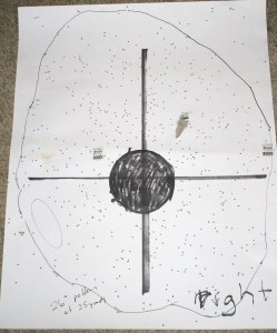 Pattern tests can show the point of impact of your shotgun -- when you are shooting it