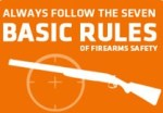 With deer rifles, always follow the basic rules of safety. And proper protocol. And good mannners.