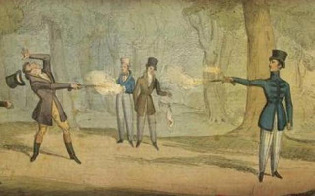 pistol-duel