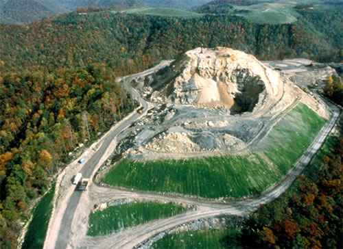 West Virginia Mountain Top Removal