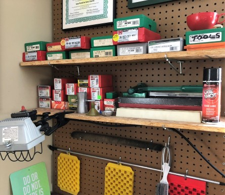 load bench shelf
